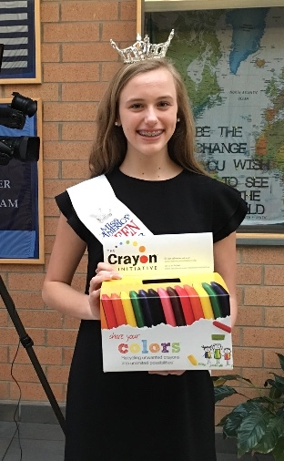 Chapman student leads crayon initiative