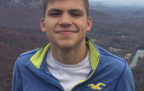 Student Body President Gabe Perry