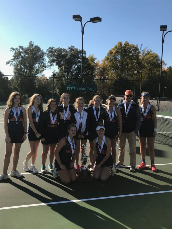Girls tennis caps off year as state runner-up
