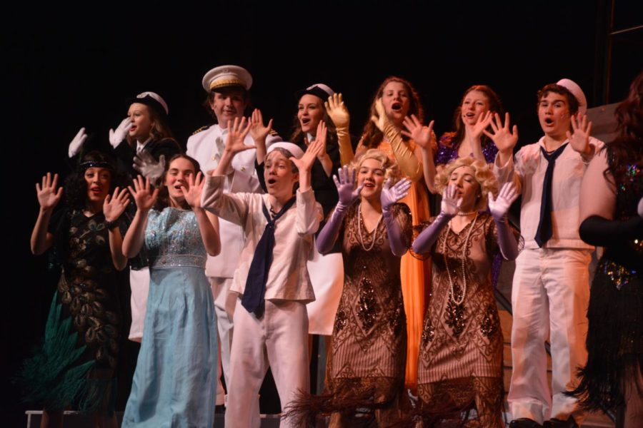 PHOTO GALLERY: Anything Goes opening night