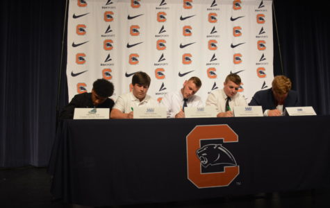 Seven athletes continuing career in college