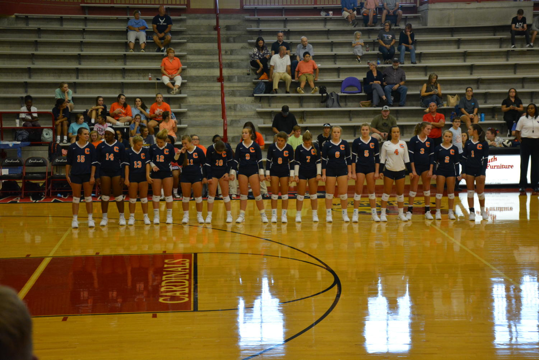 2019 varsity volleyball.