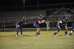 Quarterback Drew Settle and running back Derrick Miller