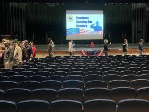 Chapman honors veterans with reverse parade
